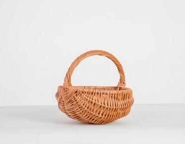Easter wicker basket