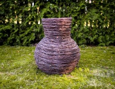 Birch decoration vase