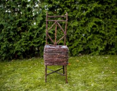 Birch decoration chair
